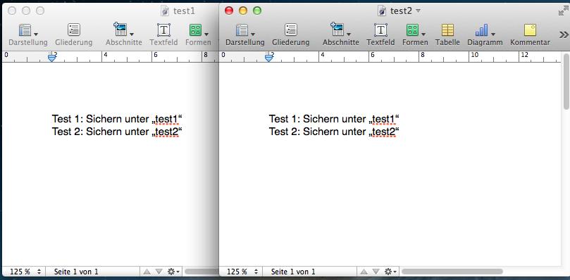 """""""Sichern unter"""" mit dem Mac-Programm """"Pages"""""""